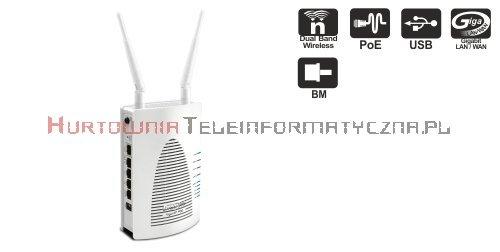 DRAYTEK Access Point Vigor AP900 2,4/5Ghz N 300Mbps, 4x10/100, 1x10/100PoE, USB