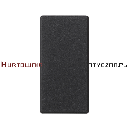 KONTAKT SIMON Connect K45/2 zaślepka 22,5x45 grafit