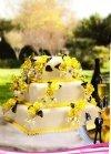 Kardasis - stojak kwadratowy na torty weselne 3 piętrowy