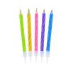 Świeczki urodzinowe na tort magiczne NIEGASNĄCE 6cm (10szt)