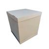 Pudełko karton na wysoki tort piętrowy 34x34x45 cm