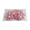 Kwiatki cukrowe na tort NIEZAPOMINAJKA 10szt wrzosowe