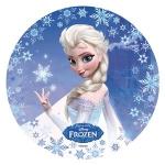 Modecor - opłatek na tort okrągły Kraina Lodu B (Frozen)