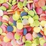 Posypka dekoracyjna confetti kółeczka kolorowe