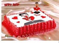 Kardasis - zestaw do dekoracji tortu BETTY BOOP I