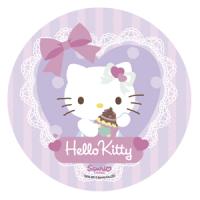 Opłatek na tort okrągły Hello Kitty C