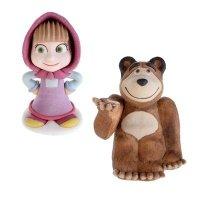 Modecor - Figurka cukrowa Masza i Niedźwiedź