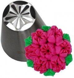 Tylka cukiernicza rosyjska stal nierdzewna BNO14 tulipan