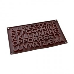 Forma silikonowa do LITEREK z czekolady masy cukrowej
