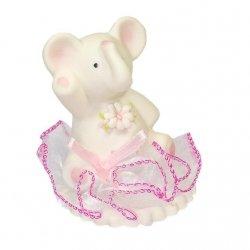 Hokus - Słonik z kwiatkiem na tiulu