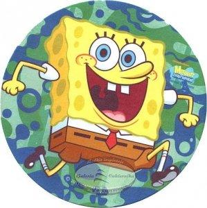 Kardasis - opłatek na tort okrągły Spongebob 2