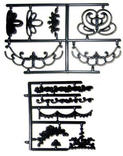 Patchwork - wycinarka z motywem kwiatowym styl angielski