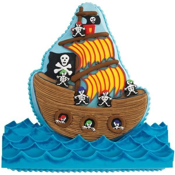 Wilton - Pirate Ship - Forma aluminiowa Statek Piracki
