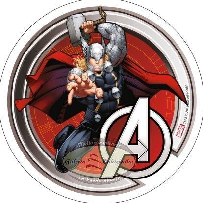 Modecor - opłatek na tort Avengers - Thor