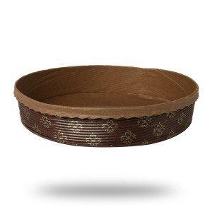 Forma papierowa do pieczenia ciasta tarty 170/35 - 5szt