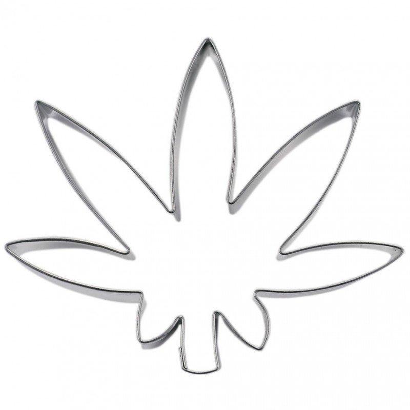 Wykrawacz FOREMKA do ciastek pierników LILIA WODNA liść 7,5cm