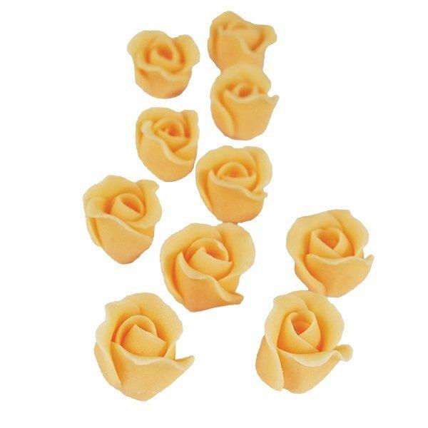 Cukrowe MINI RÓŻE różyczki herbaciane 10szt