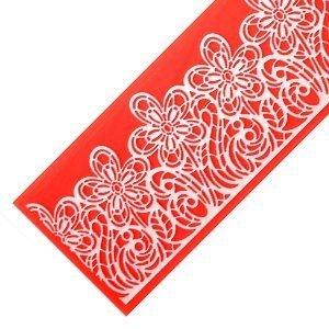 Modecor - Kwiaty silikonowa foremka do koronek