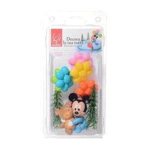 Zestaw do dekoracji tortu figurka Myszka Miki