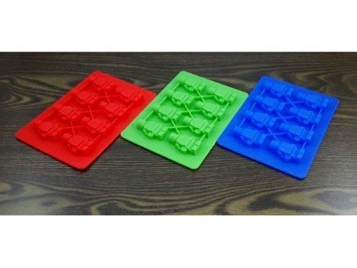Silikonowa forma do czekolady kostek lodu żelków LUDZIKI LEGO