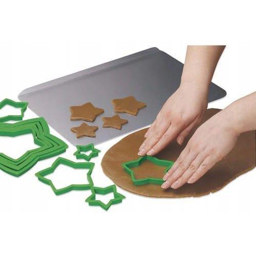 Zestaw FOREMEK do wykrawania ciastek CHOINKA 3D gwiazdki - Wilton