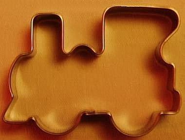 Wykrawaczka metalowy do ciastek LOKOMOTYWA