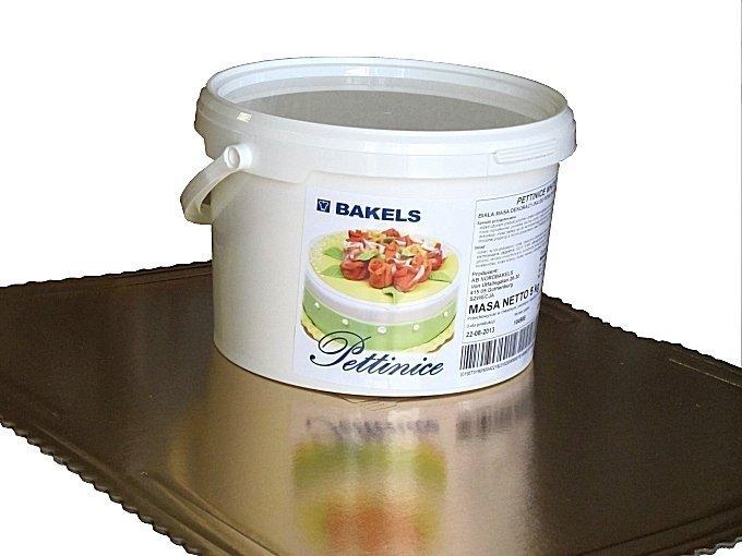 BAKELS - PETTINICE Lukier plastyczny biały 5 kg