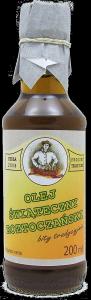 olej świąteczny roztoczański 200 ml bity tradycyjnie szkło