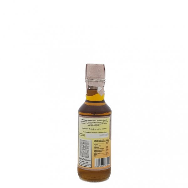 Olej z rydzyka 200 ml bity tradycyjnie - tył.