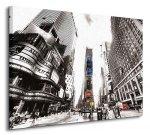 Obraz na płótnie - Times Square Vintage (New York) - 60x80 cm