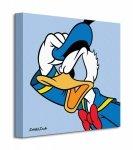 Obraz na płótnie - Donald Duck (Blue)