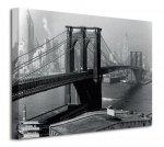 Obraz na płótnie - Time Life (Brooklyn Bridge, New York 1946)