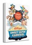 Vintage Kelloggs (Sweet Eatin' Carnival) - Obraz na płótnie