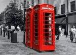 Fototapeta na ścianę - Budka telefoniczna w Londynie - 254x183 cm