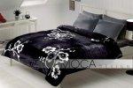 Narzuta na łóżo - 220x240cm - Sakura black