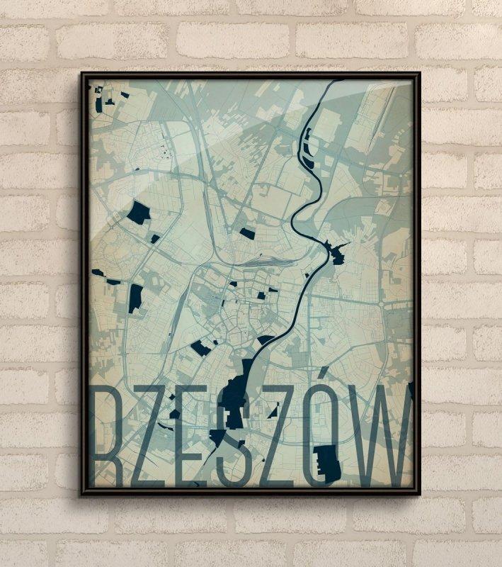 Plakat Na ścianę Rzeszów Dekoracje ścienne Sklep Decoart24