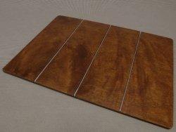 Podkładka na stół - Drewniana - 30x40cm - Stal