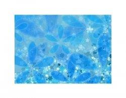 Kwiaty - błękit - reprodukcja