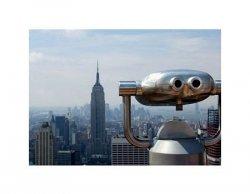 Observation deck in Manhattan - reprodukcja