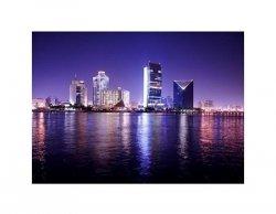 Night Scene - Dubai - reprodukcja