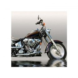 Czarny Motocykl - reprodukcja