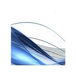 Modern background in blue - reprodukcja