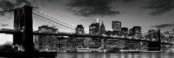 Brooklyn Bridge At Dusk (New York) - plakat