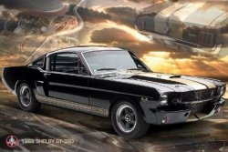 Ford Shelby (Mustang 66 gt 350) - plakat