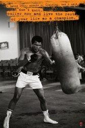 Muhammad Ali (Punchbag) - plakat