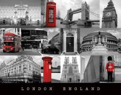 London (England) - plakat
