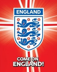 England F.A (Come On England!) - plakat