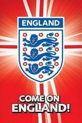 England F.A (Come On England!) - plakat