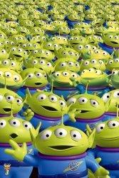 Toy Story 3 Aliens - plakat