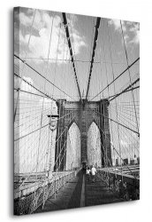 Obraz na ścianę - Brooklyn Bridge, New York - 90x120 cm